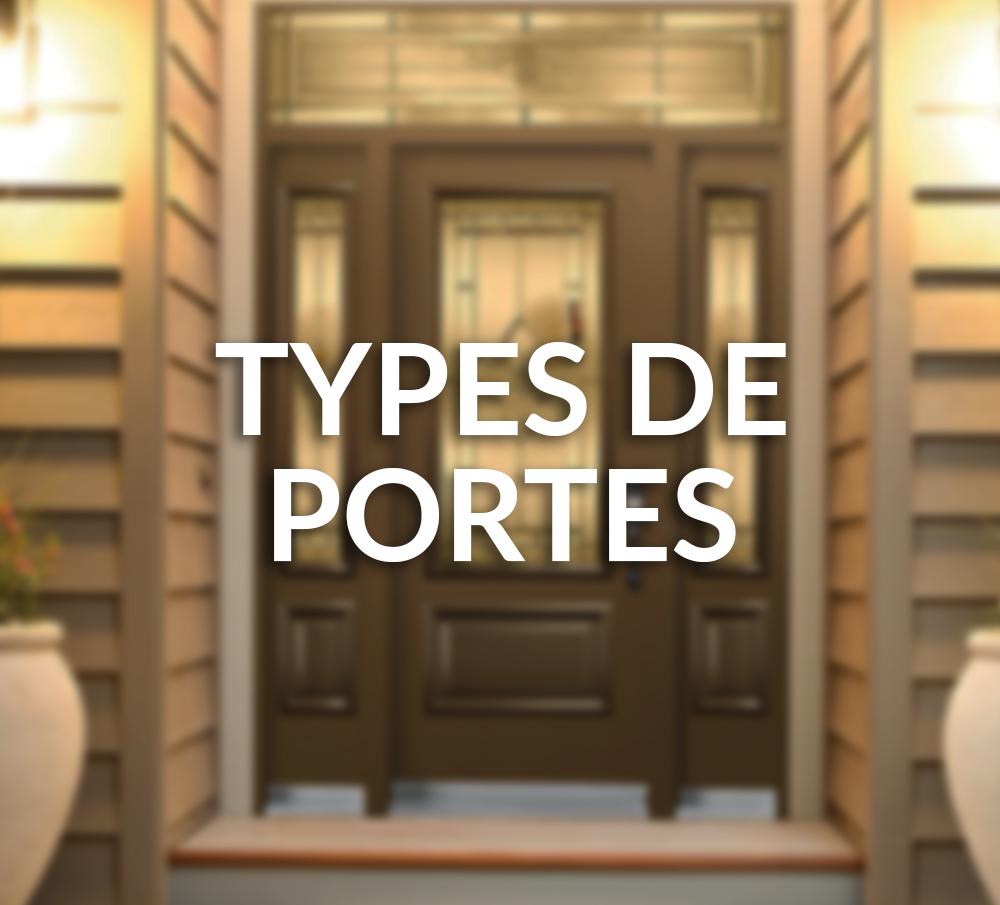 Types de portes